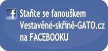 Staňte se fanoušky Vestavěné-skříně-GATO.cz na FACEBOOKU